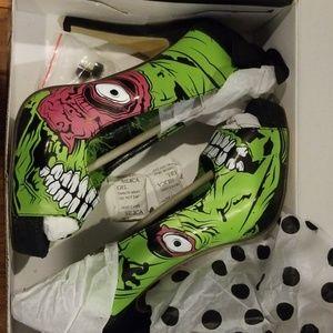 Iron Fist Zombie Platform Shoes